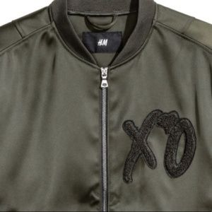 H&M The Weeknd Spring Collection Bomber Jacket